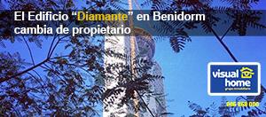 El 'BANCO MALO' se queda la torre más alta de Benidorm – Edificio diamante