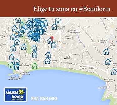 """El """"DONDE"""" está tu apartamento en Benidorm es lo más importante"""