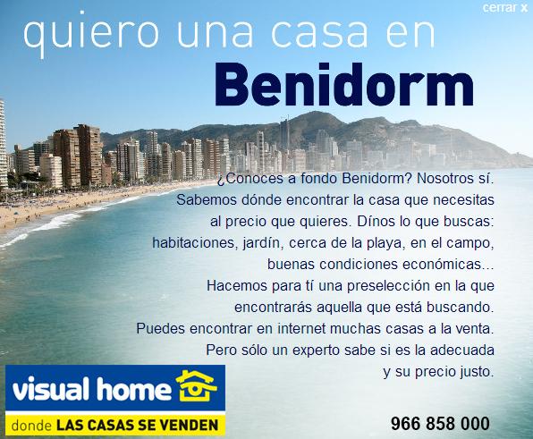 Quiero una casa o apartamento en benidorm y somos los reyes apartamentos en benidorm visual - Alquiler de apartamentos en benidorm particulares ...