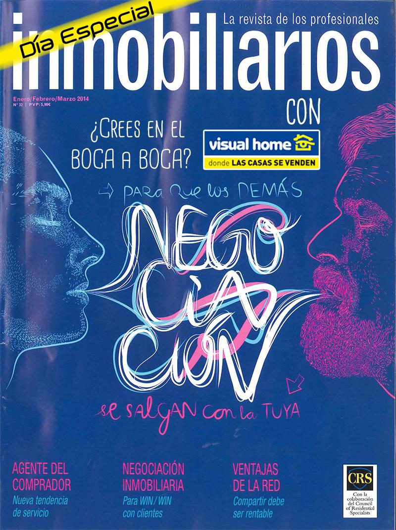 Revista inmobiliarios con Visual-Home-pisos-apartamentos-en-benidorm