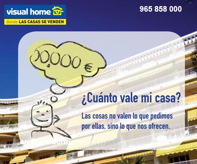 Dinos el precio de tu #casa en Benidorm