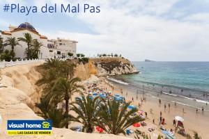 Playa_del Mal Pas Alquier de Apartamentos en Benidorm Visual Home