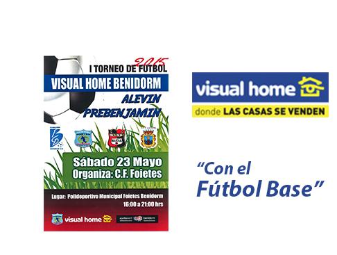 Visual-Home con el fútbol base de Benidorm