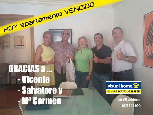 Salvatore, Mari Carmen y Vicente: Clientes satisfechos HOY en ♥ Visual – Home ♥