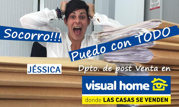 Jéssica – la reina de la postventa en Visual-Home