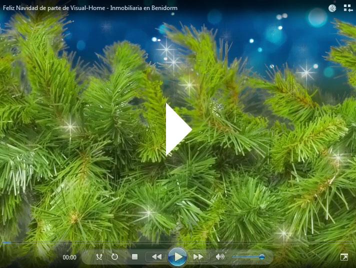 Feliz Navidad de parte de Visual-Home - Inmobiliaria en Benidorm