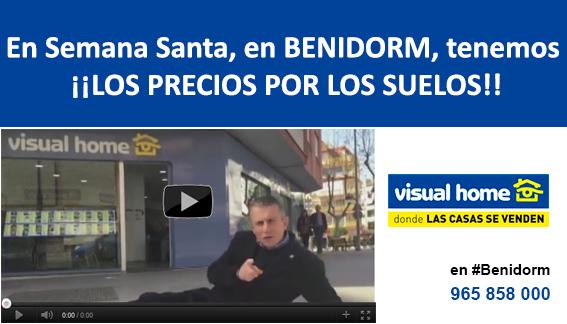 En Semana Santa en Benidorm tenemos los precios…. por los SUELOS – ¡¡¡te esperamos!!