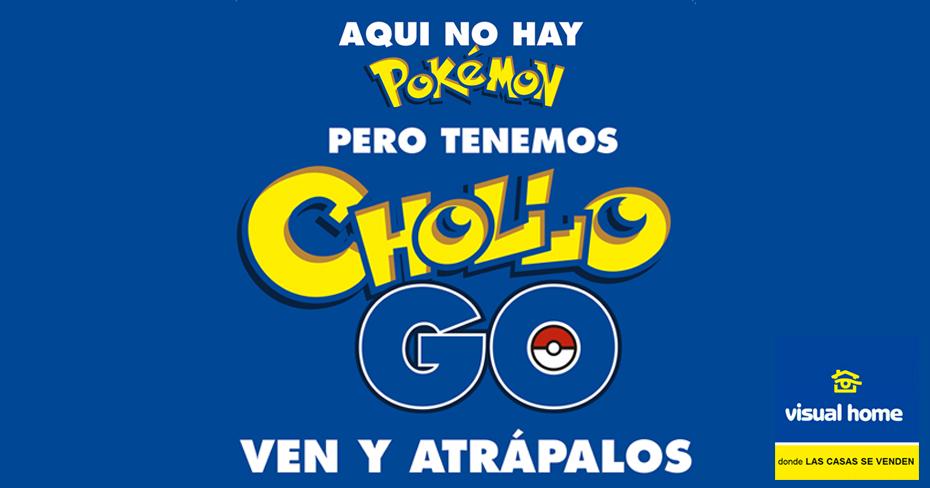 En Visual Home no tenemos #Pokemons… ¡¡Pero SÍ CHOLLOS GO!!