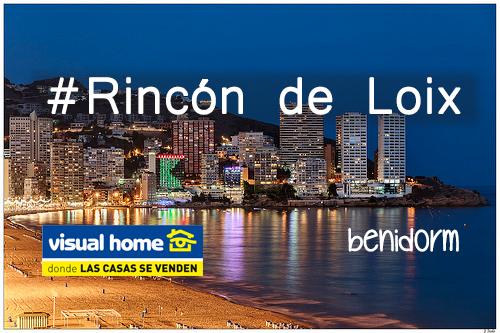 El Rincon de Loix de Benidorm – Elegir aquí tu Apartamento en venta y/o alquiler