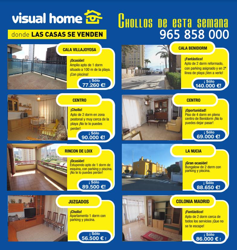 Apartamentos en Benidorm en oferta