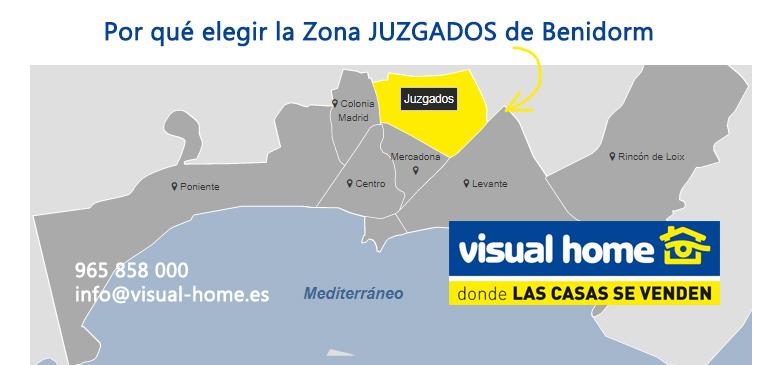 Apartamentos en zona juzgados en Benidorm: ¿por qué elegir aquí una vivienda?