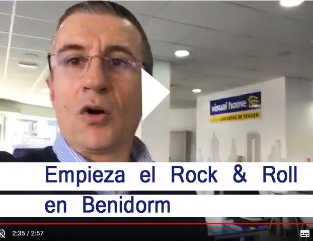 Empieza el Rock&Roll  en Visual Home – Benidorm
