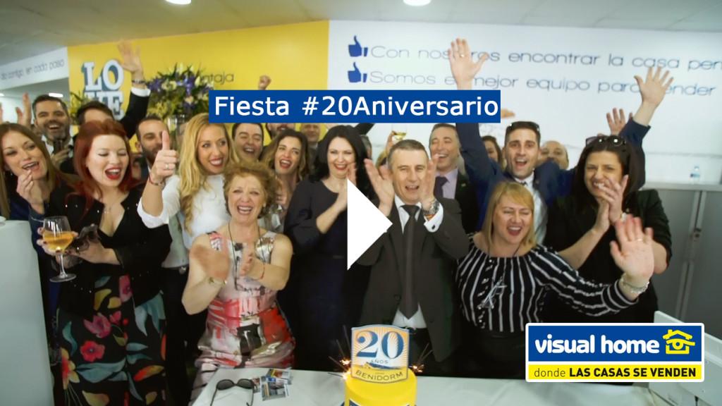 Así fue la fiesta del 20 Aniversario de Visual Home en Benidorm