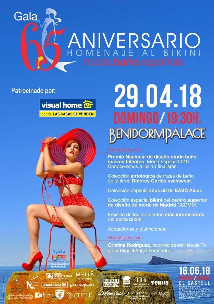 Visual Home patrocina la MFB – en su 65 aniversario con homenaje al Bikini en Benidorm